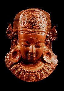 Indra - copper, 13th-14th c., Nepal